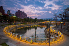 Heart of Love River in Kaohsiung Stock Image
