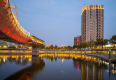 Heart of Love River in Kaohsiung Royalty Free Stock Photography