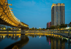 Heart of Love River in Kaohsiung Stock Images