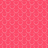 Heart Love Seamless Pattern Background Vector Stock Photography