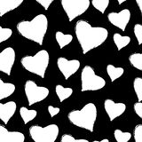 Heart and love seamless pattern, Royalty Free Stock Image