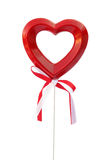 Heart of love on stick Royalty Free Stock Image