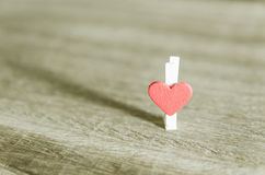 Heart of love Stock Image