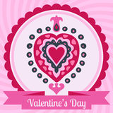 Heart love valentines day  Royalty Free Stock Photography