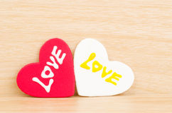 Heart with love Royalty Free Stock Images