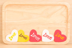 Heart with love Stock Image