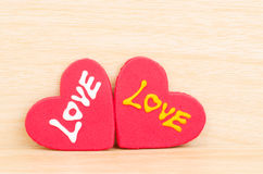 Heart with love Royalty Free Stock Image