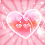 Heart Lovely background Royalty Free Stock Photos