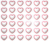 Heart lovely nice design Royalty Free Stock Photo
