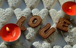 Heart for loving Stock Image