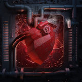 Heart machinery Stock Images