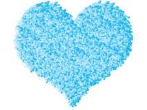 Heart made of bubbles Stock Photos