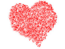 Heart made of bubbles Royalty Free Stock Image