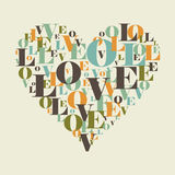 Love heart8 Royalty Free Stock Photos