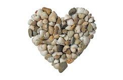 Heart made of shells Stock Photo