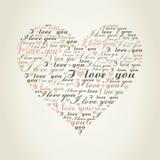 Love heart9 Royalty Free Stock Photo