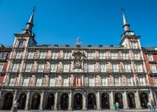 Heart of Madrid Stock Image