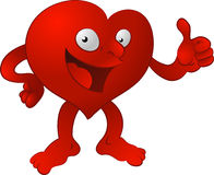 Heart man Stock Images