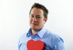 Heart Man Royalty Free Stock Photo