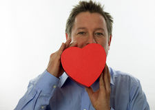 Heart Man Royalty Free Stock Photo