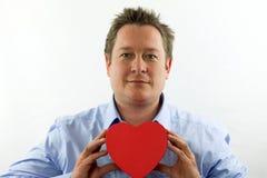 Heart Man Royalty Free Stock Photos