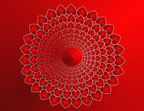 Heart Mandala Stock Image