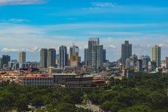 The Heart of Manila stock image