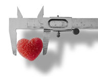 Heart Measured Stock Photos