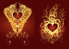 Heart medal Royalty Free Stock Photography