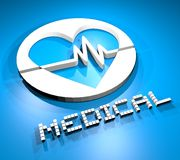 Heart medical Royalty Free Stock Images