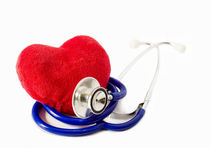 Heart medical prevention Royalty Free Stock Photo