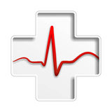 Heart medicine Royalty Free Stock Images