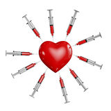 Heart medicine Royalty Free Stock Photos