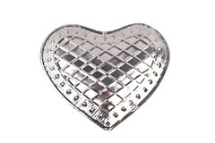 Heart of metal Royalty Free Stock Photo