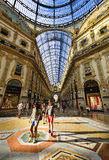 In the heart of Milan, Italy Royalty Free Stock Photo