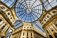 In the heart of Milan, Italy Royalty Free Stock Photos