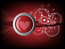 Heart modern background Royalty Free Stock Photography