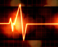 Heart monitor Royalty Free Stock Image