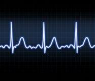 Heart monitor royalty free illustration
