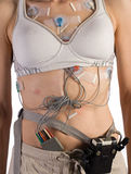 Heart Monitor attached to Patient Royalty Free Stock Image