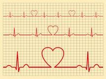 Heart monitor-Vector Stock Image