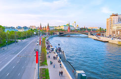 The heart of Moscow Stock Photography