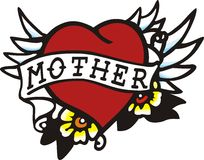 Heart Mother Stock Photo