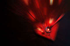 Heart Motion Blur - Love Concept stock images