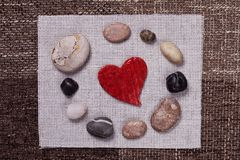 Heart music love background wallpaper design Royalty Free Stock Images