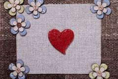 Heart music love background wallpaper design Royalty Free Stock Photos