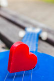 Heart of music Royalty Free Stock Photo
