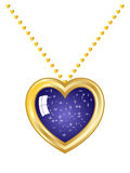 Heart Necklace Royalty Free Stock Photos