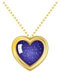 Heart Necklace stock illustration