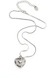 Heart necklace royalty free stock image